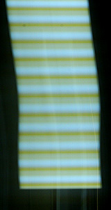 Trace of a traditional fluorescent light